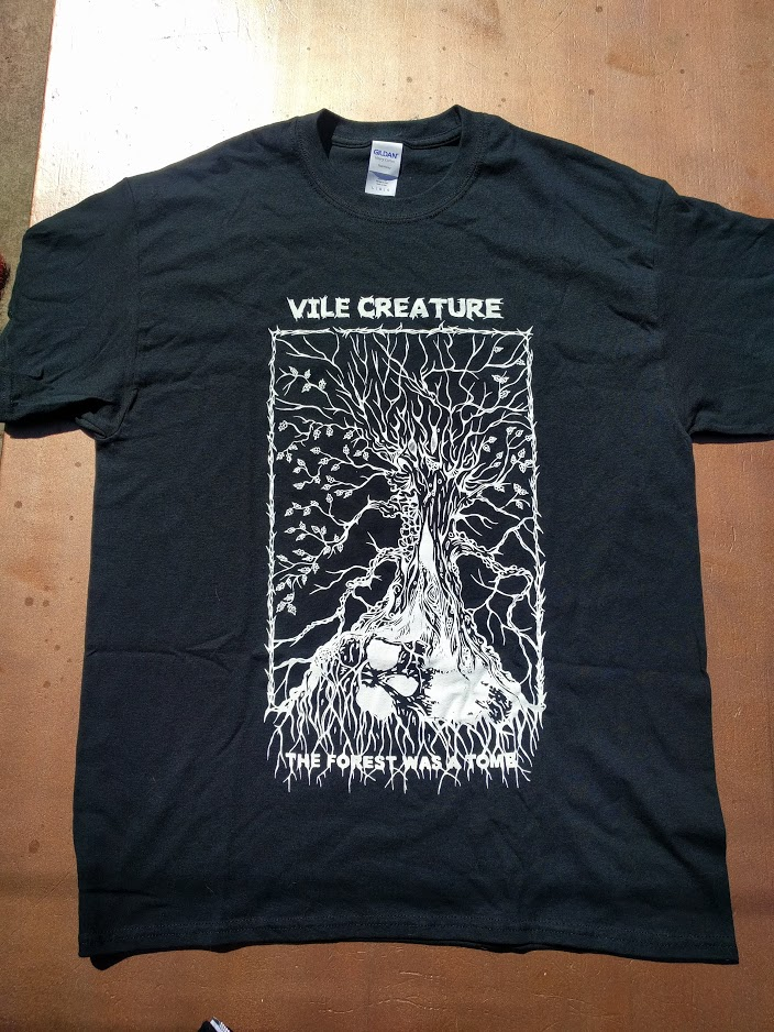 VILE CREATURE - FOREST AS A TOMB SHIRT