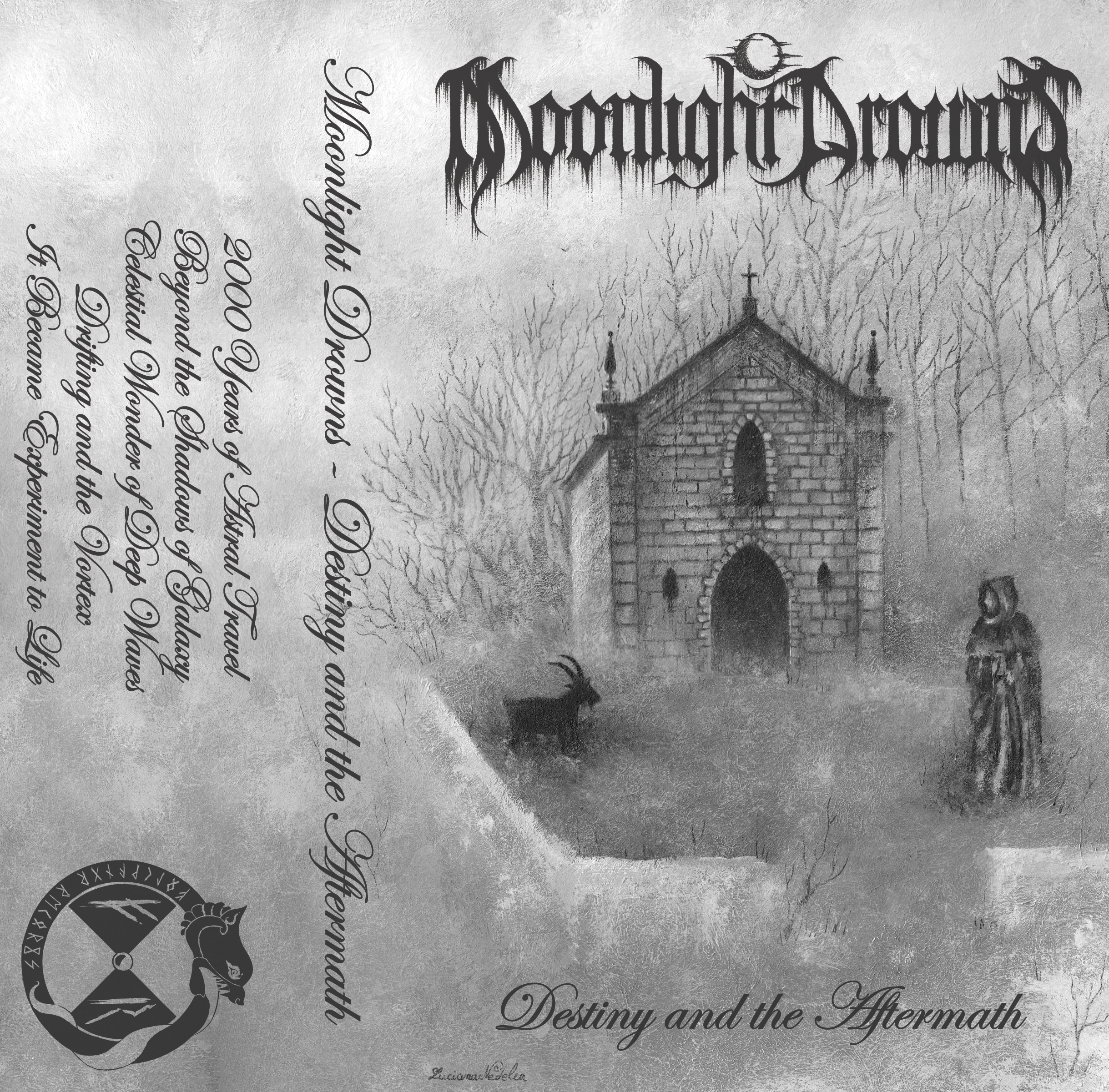 Folkvangr Records - Moonlight Drowns - Destiny and the Aftermath