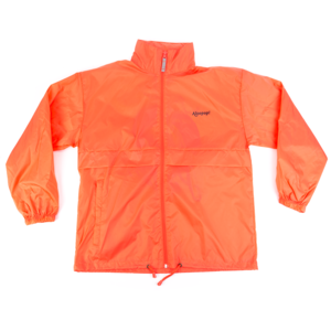 On Wednesdays We Wear Punk Peachy Orange Windbreakers