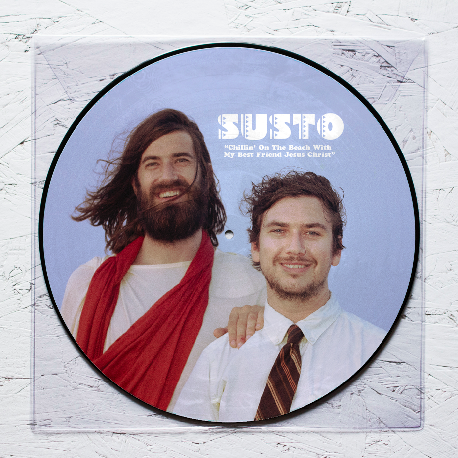 SUSTO Chillin' On The Beach With My Best Friend Jesus Christ 7