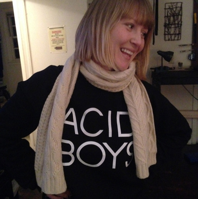 ACID BOYS Classic Black Sweater