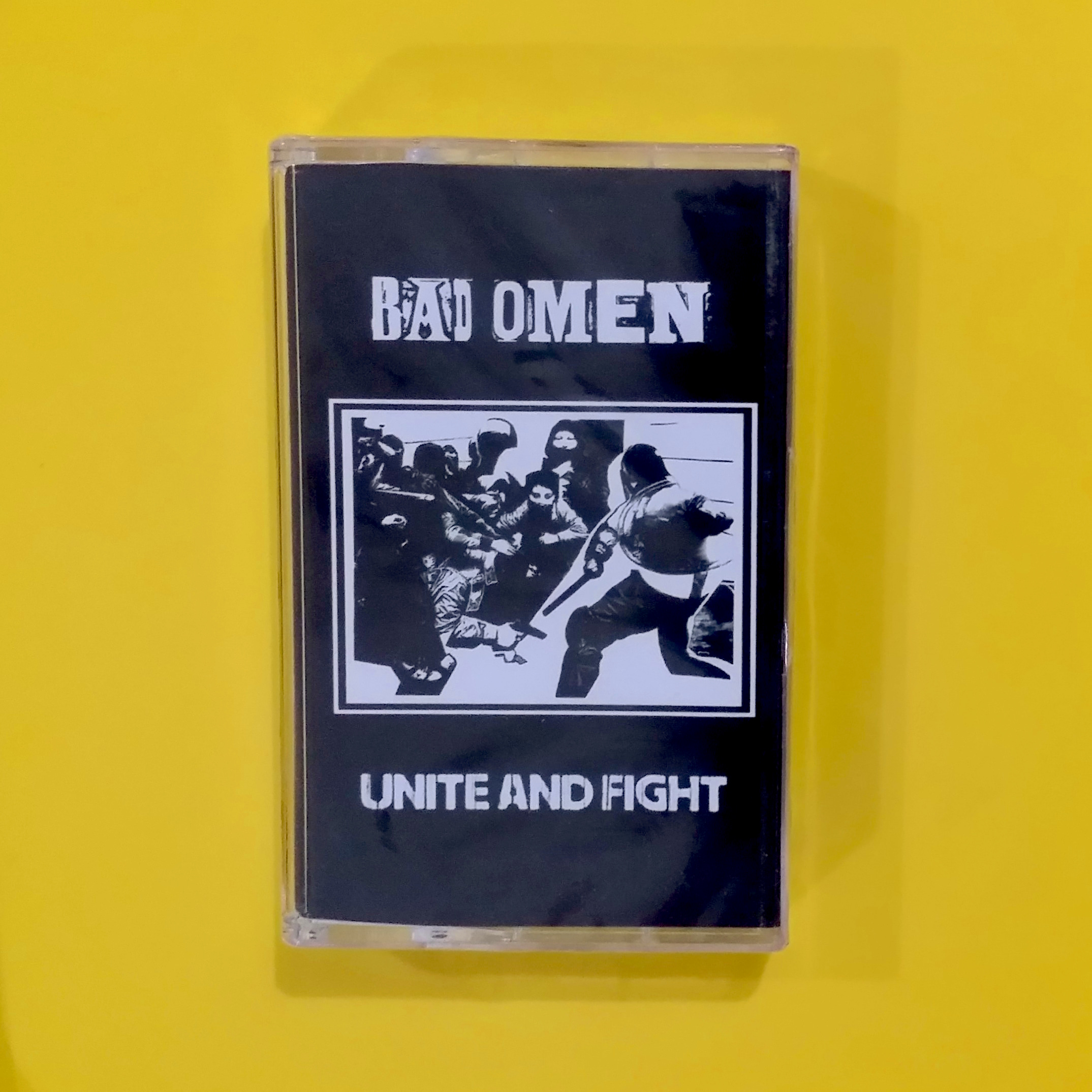 Bad Omen - Unite and Fight (Middle Finger Records / Nine Iron)