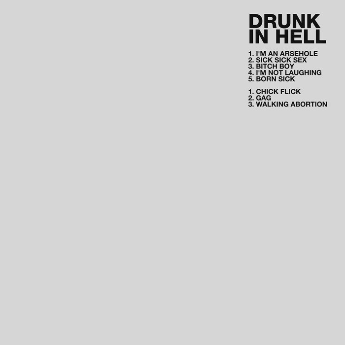 DRUNK IN HELL - ST CD