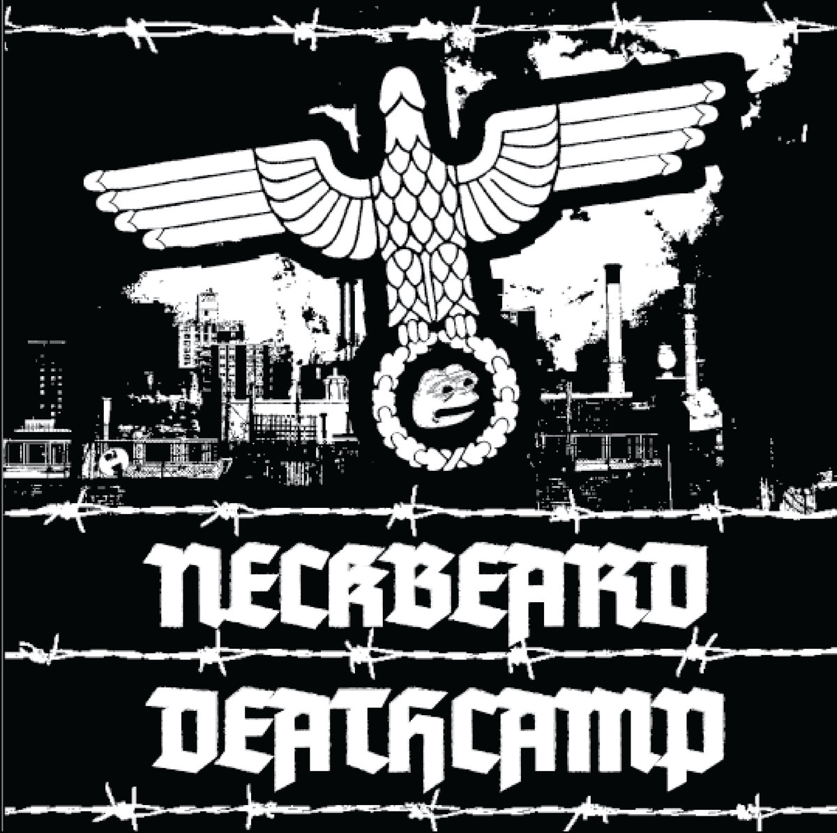 Neckbeard Deathcamp - White Nationalism Is For Basement Dwelling Losers LP
