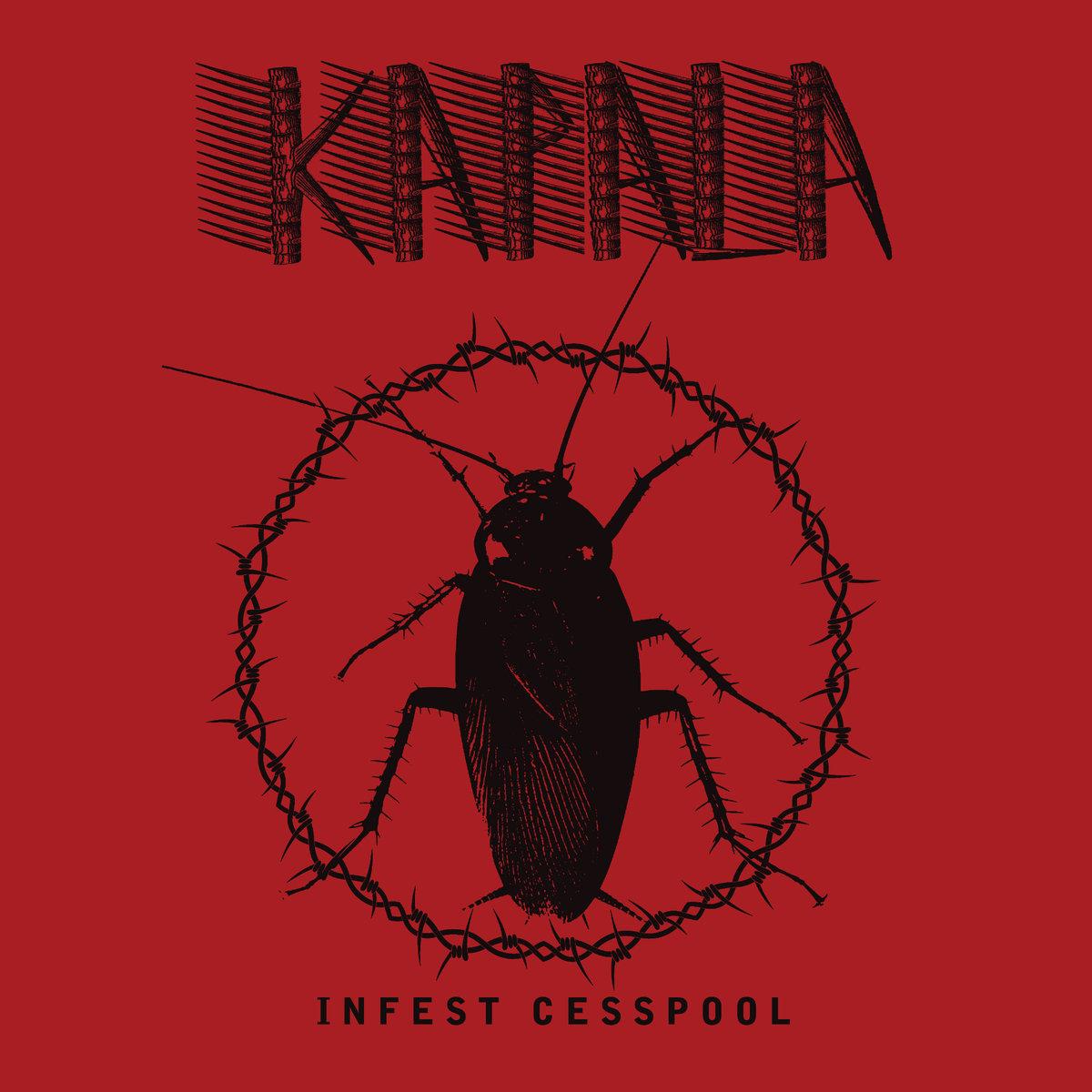 KAPALA - Infest Cesspool one sided 12