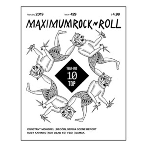 MAXIMUM ROCKNROLL #429 & back issues