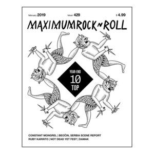 MAXIMUM ROCKNROLL #429 & back issues