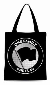 One Family. One Flag. Tote Bag
