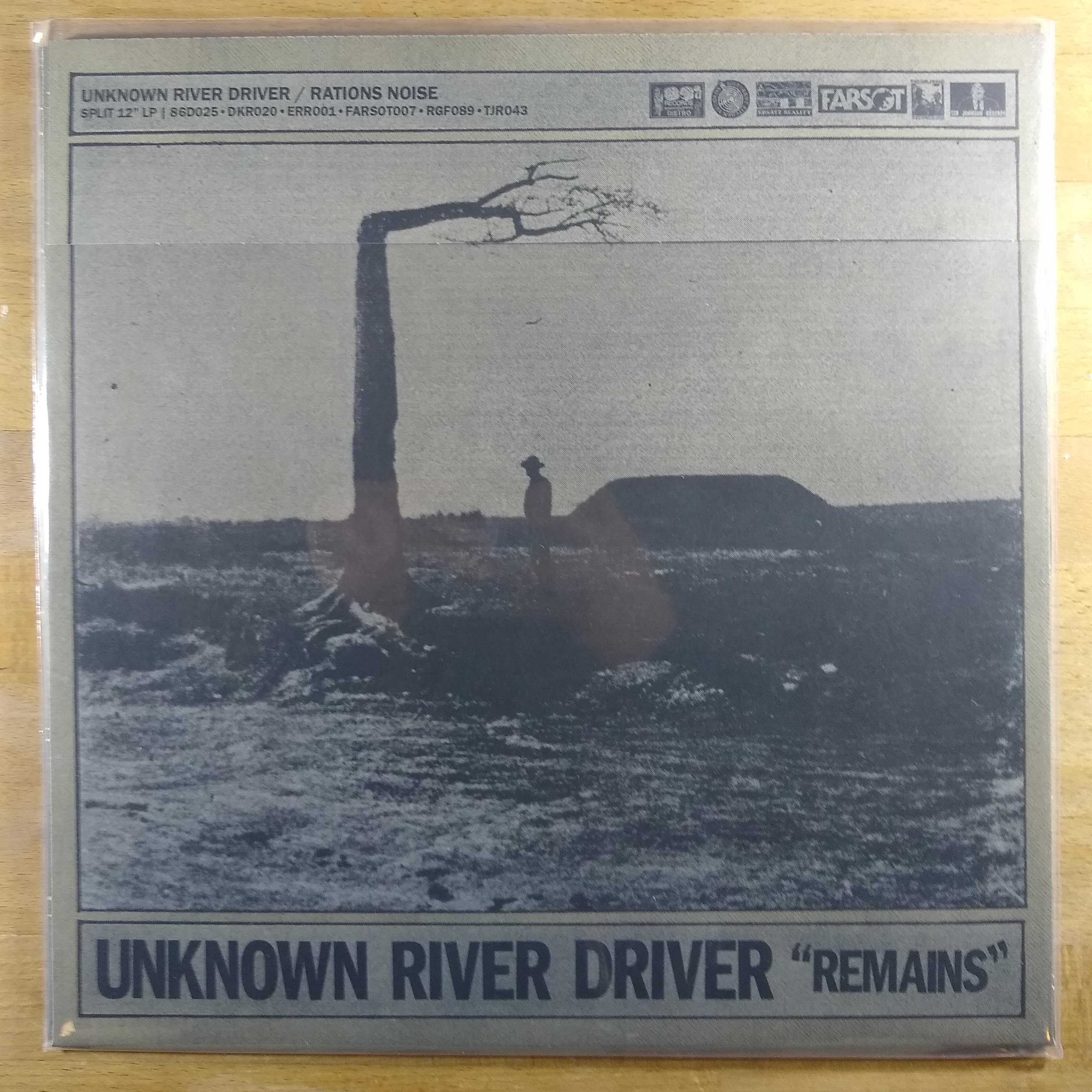 RATIONS NOISE / UNKNOWN RIVER DRIVER split 12