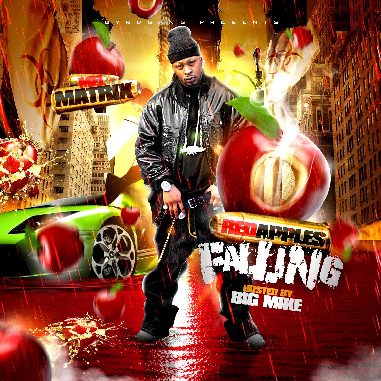 Mel Matrix - Red Apples Falling