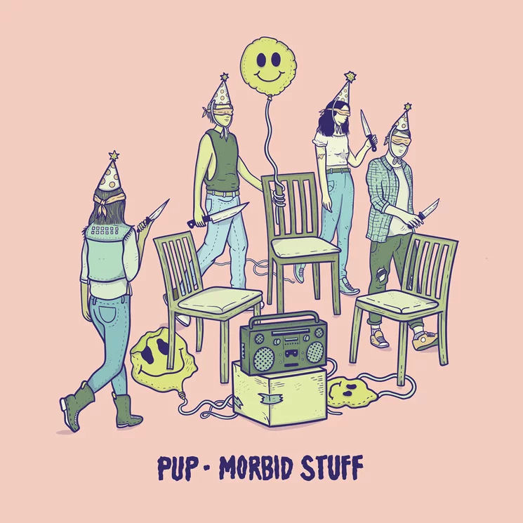PUP - Morbid Stuff LP / CD