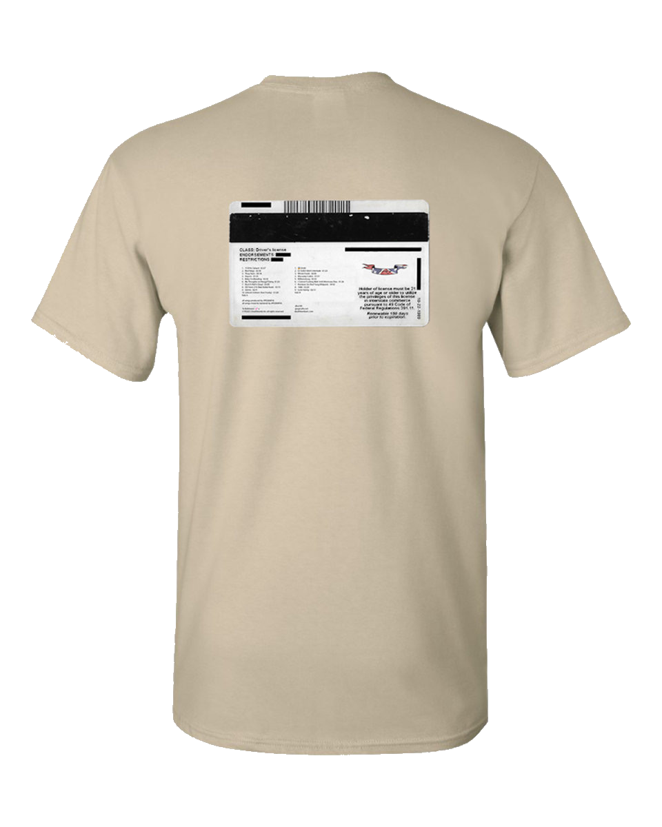 Veteran ID Tee (natural)