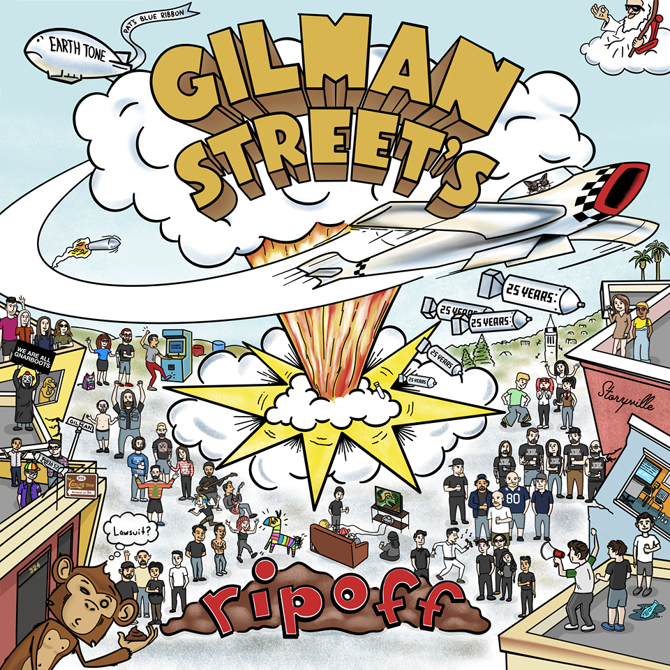 V/A GILMAN STREET RIPOFFS(A Tribute To DOOKIE)