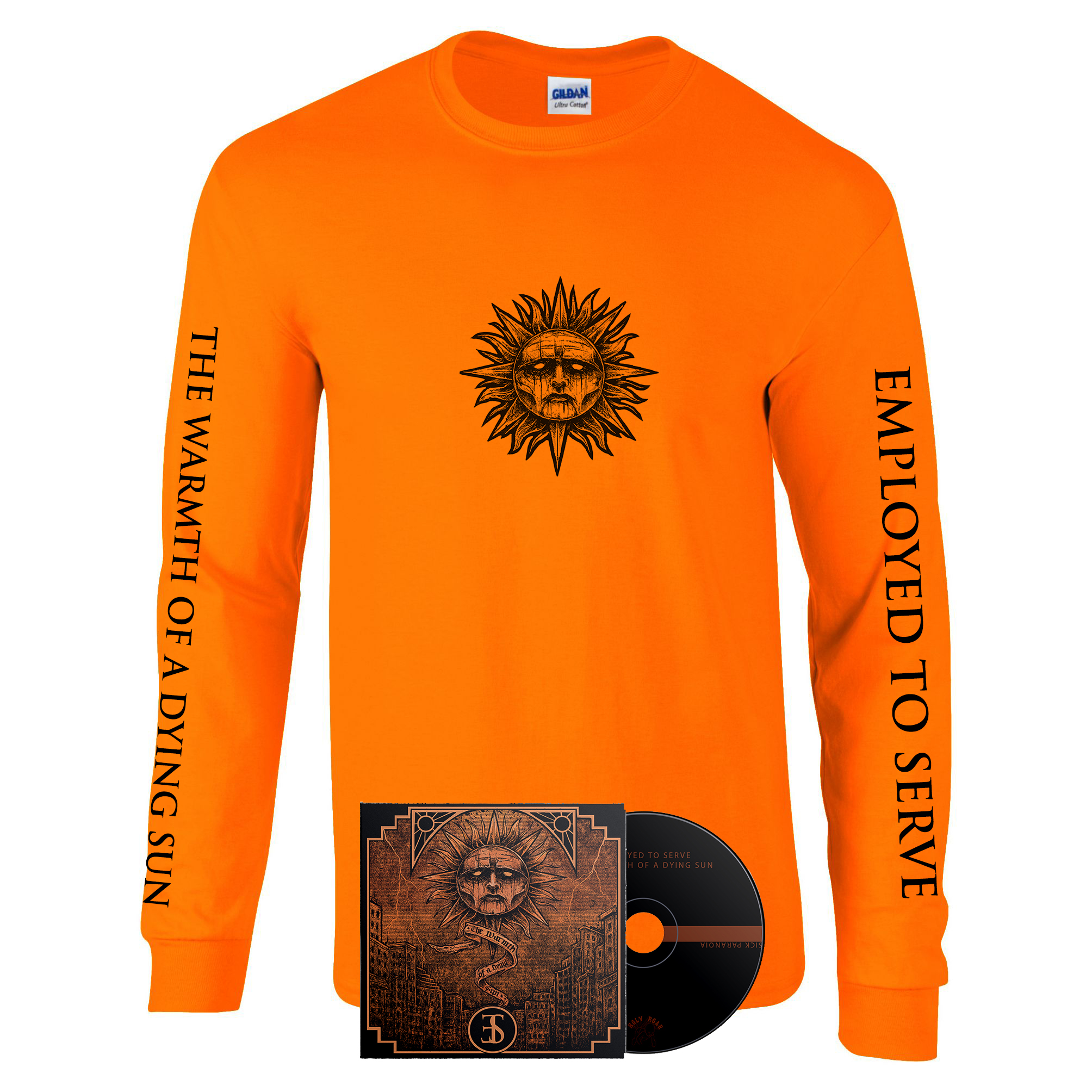 Employed To Serve - The Warmth Of A Dying Sun long sleeve + CD PREORDER