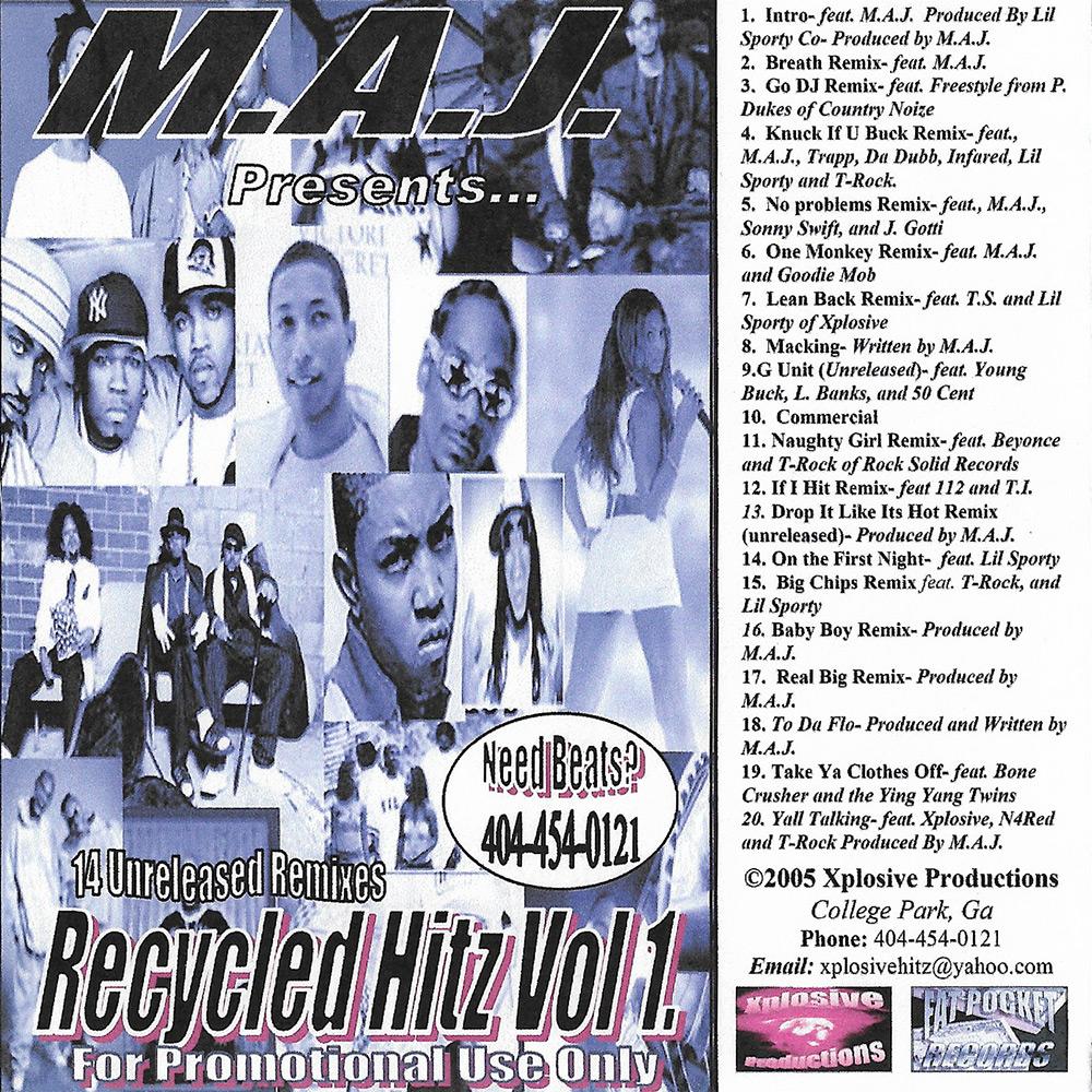 M.A.J. - Recycled Hitz