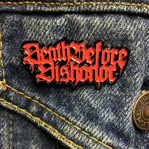 Death Before Dishonor 'Logo' Enamel Pin