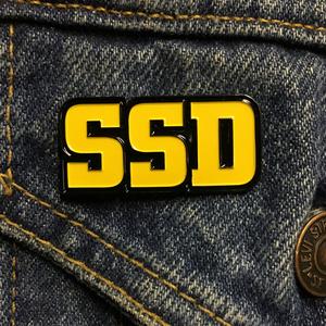 SSD 'Logo' Enamel Pin
