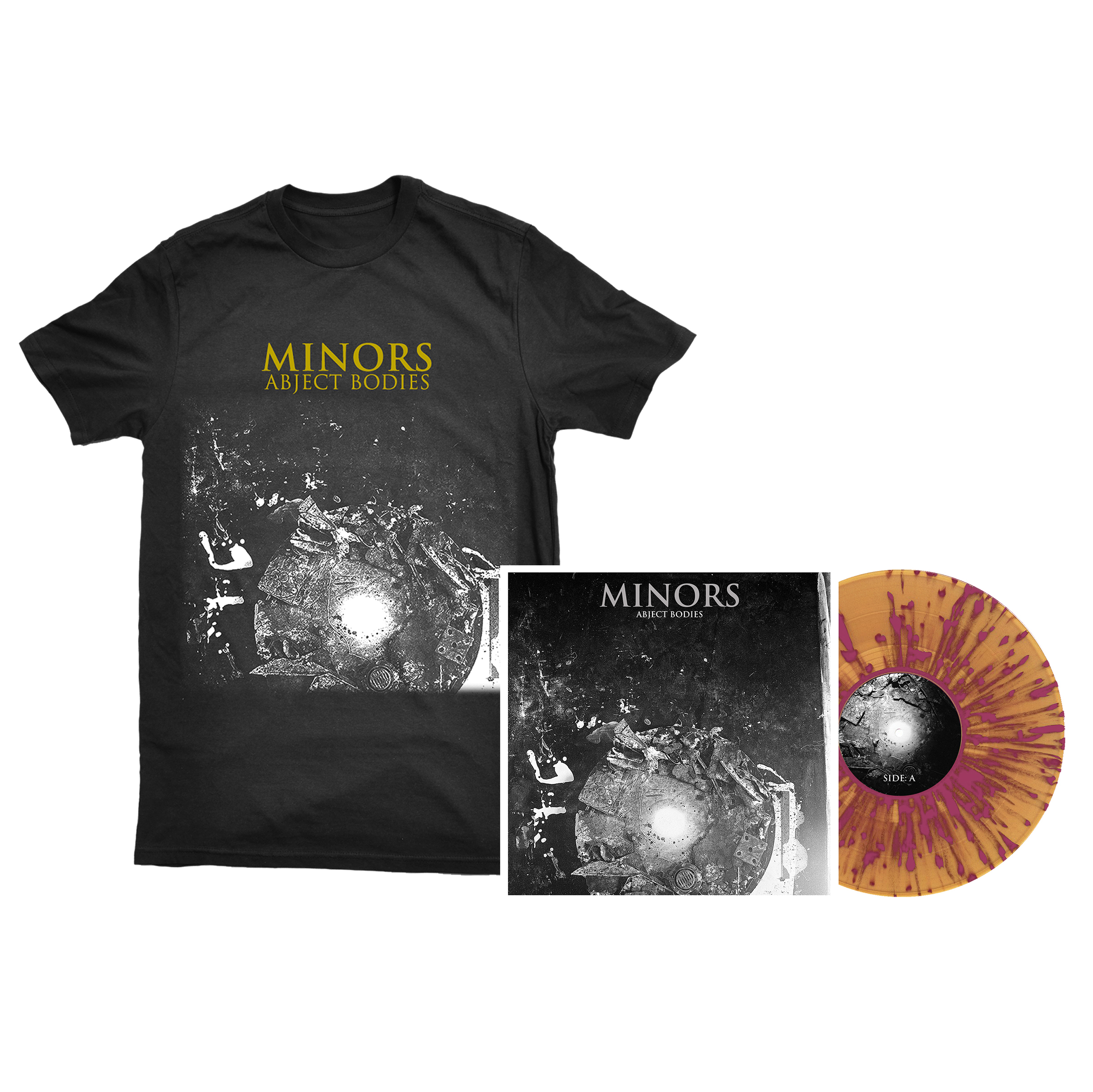 Minors - Abject Bodies shirt + LP