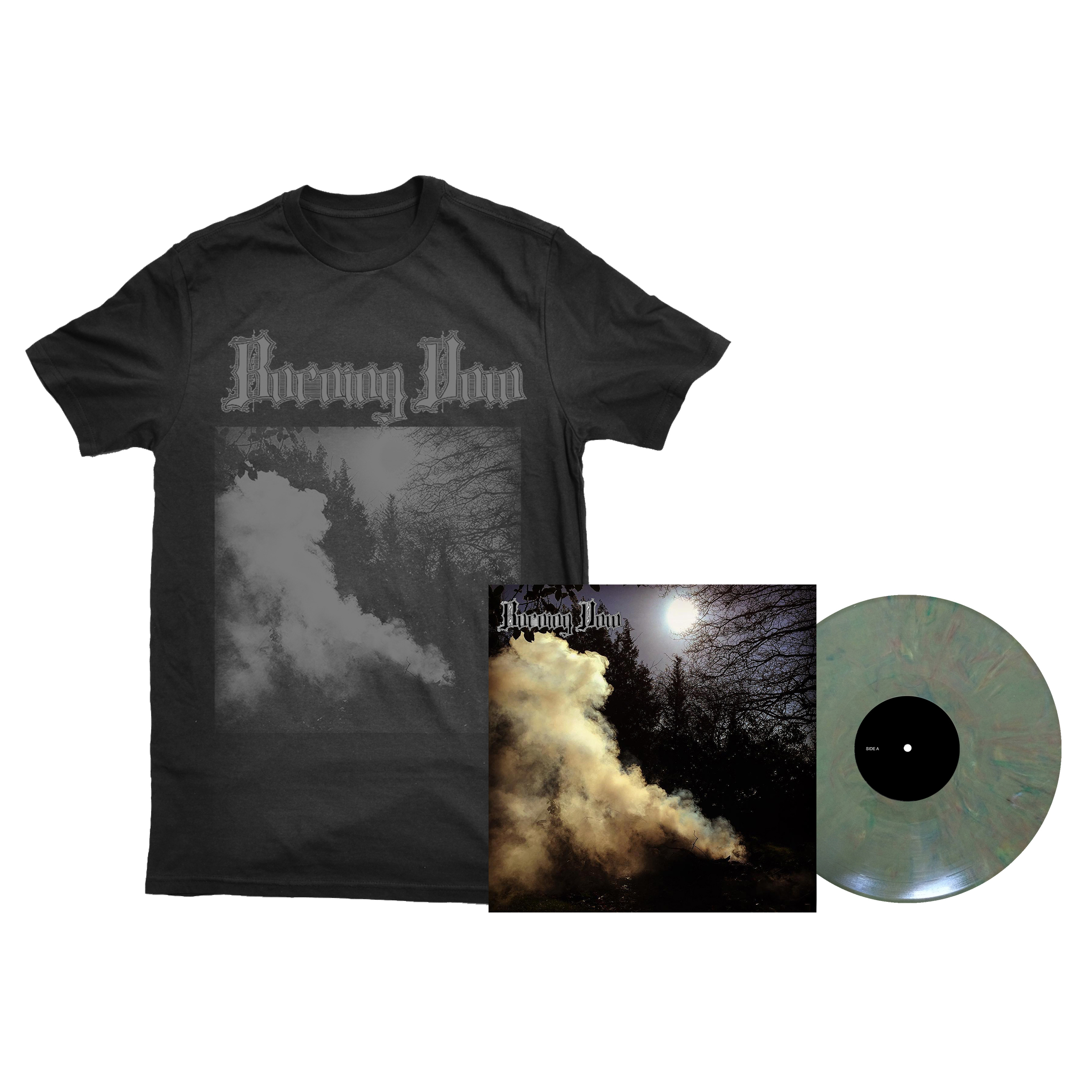 Burning Vow - S/T shirt + LP