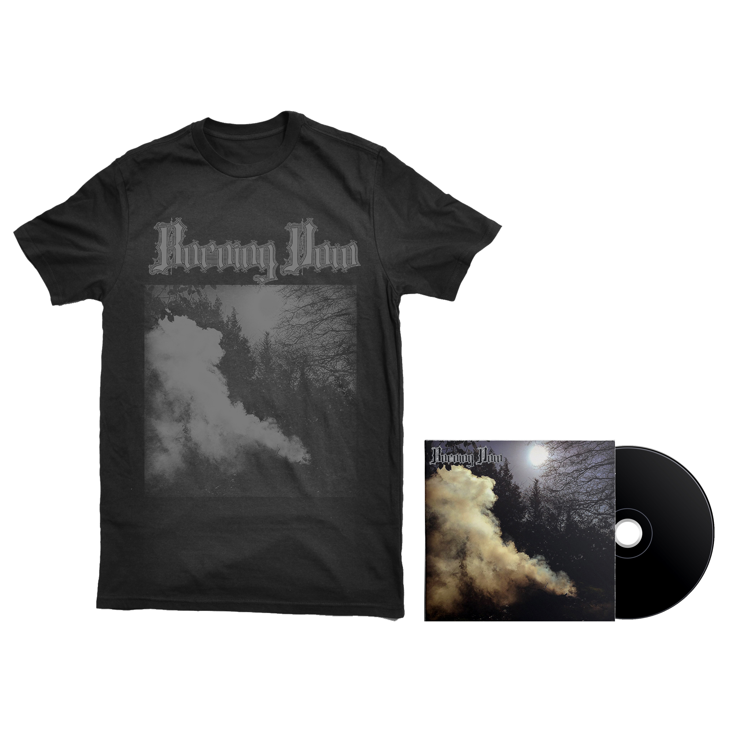 Burning Vow - S/T shirt + CD