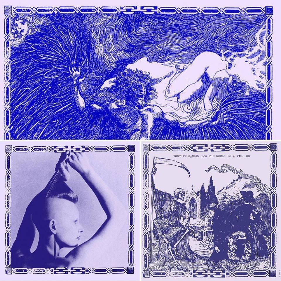 CLOUD RAT / THE WORLD IS A VAMPIRE / TORTURE GARDEN BUNDLE
