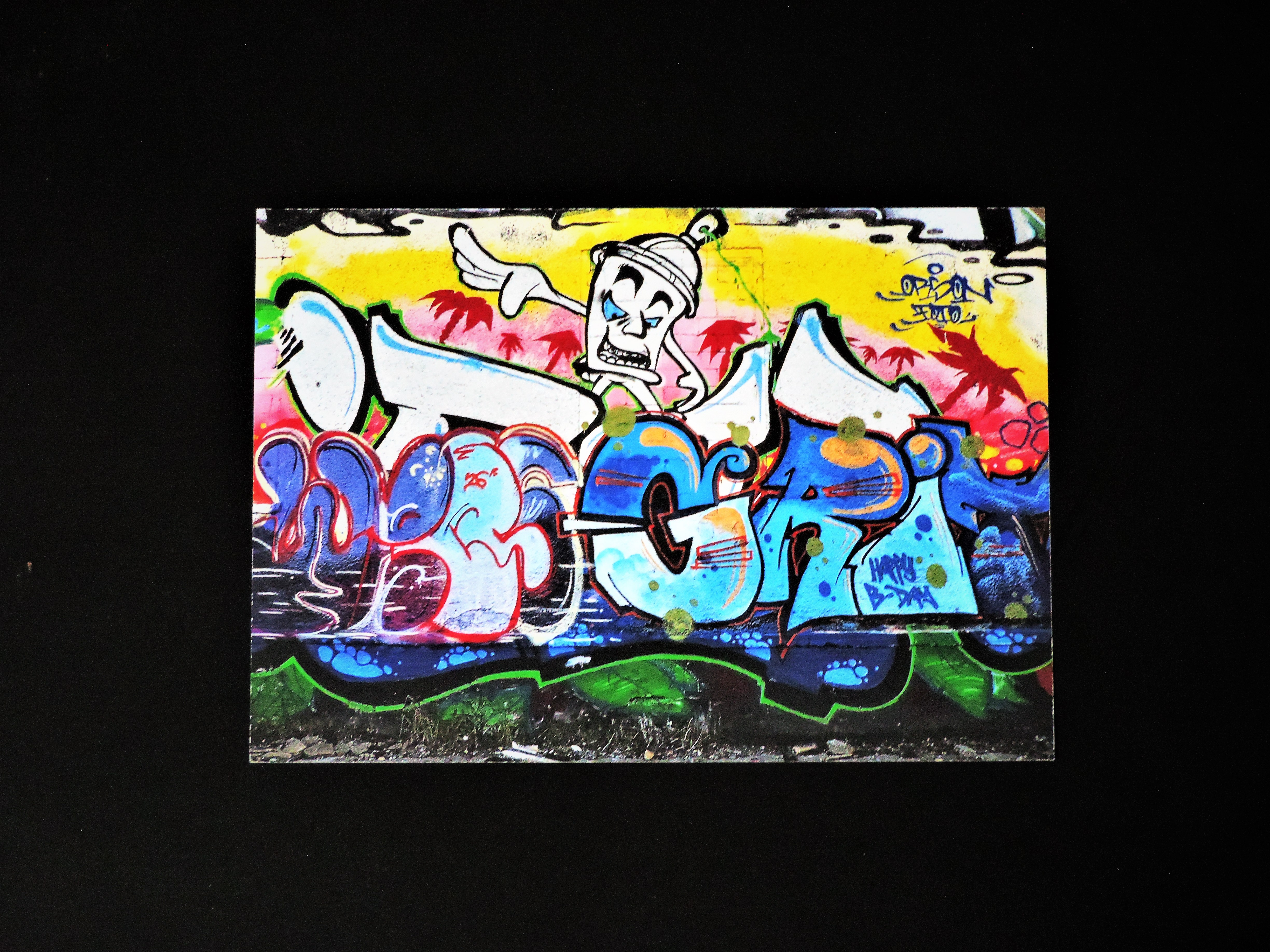 Berlin Graffiti Print