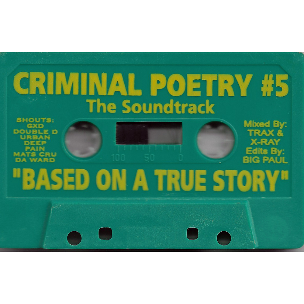 Criminal Poetry #5 The Soundtrack