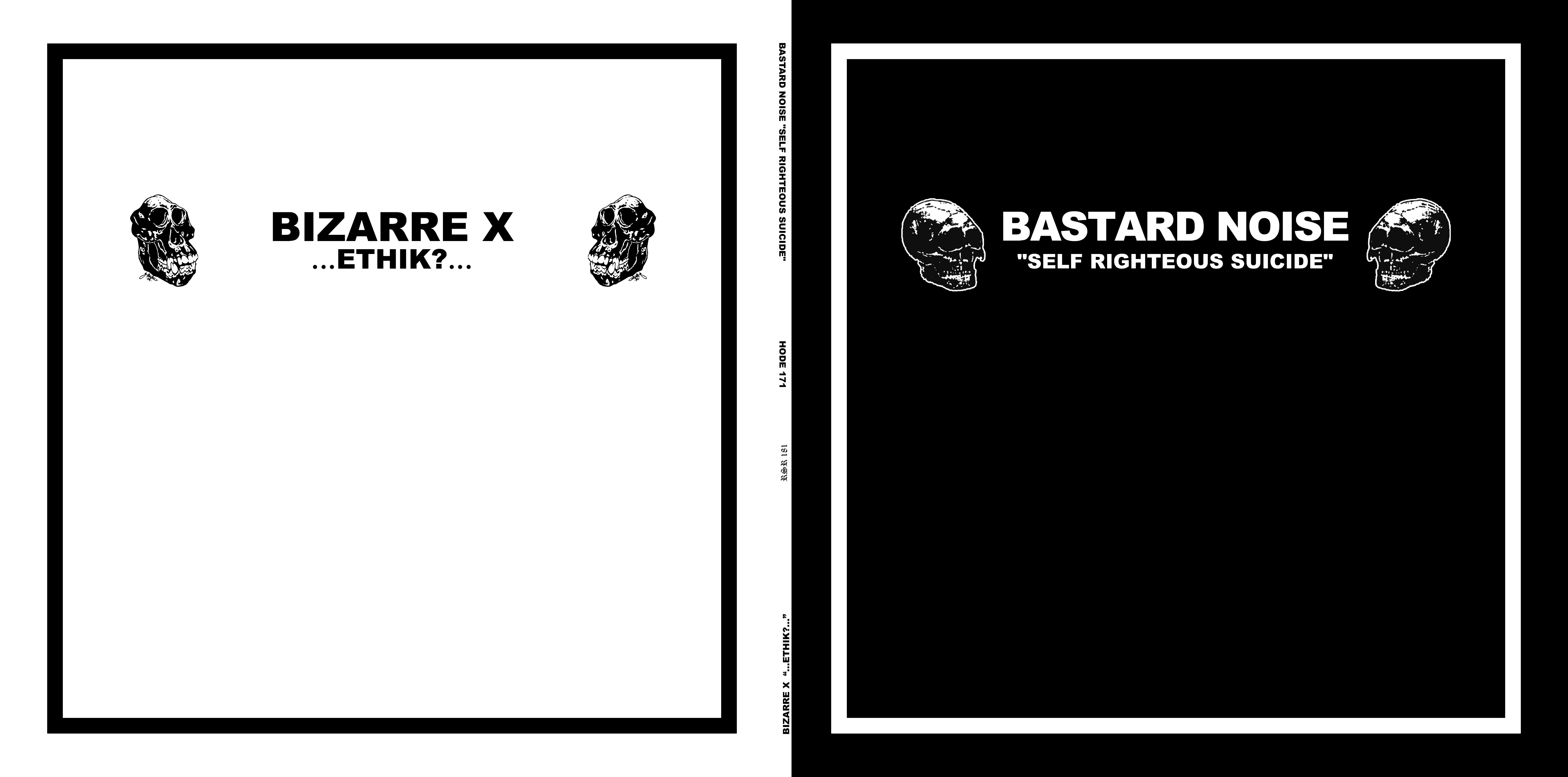 BASTARD NOISE / BIZARRE X - split 12