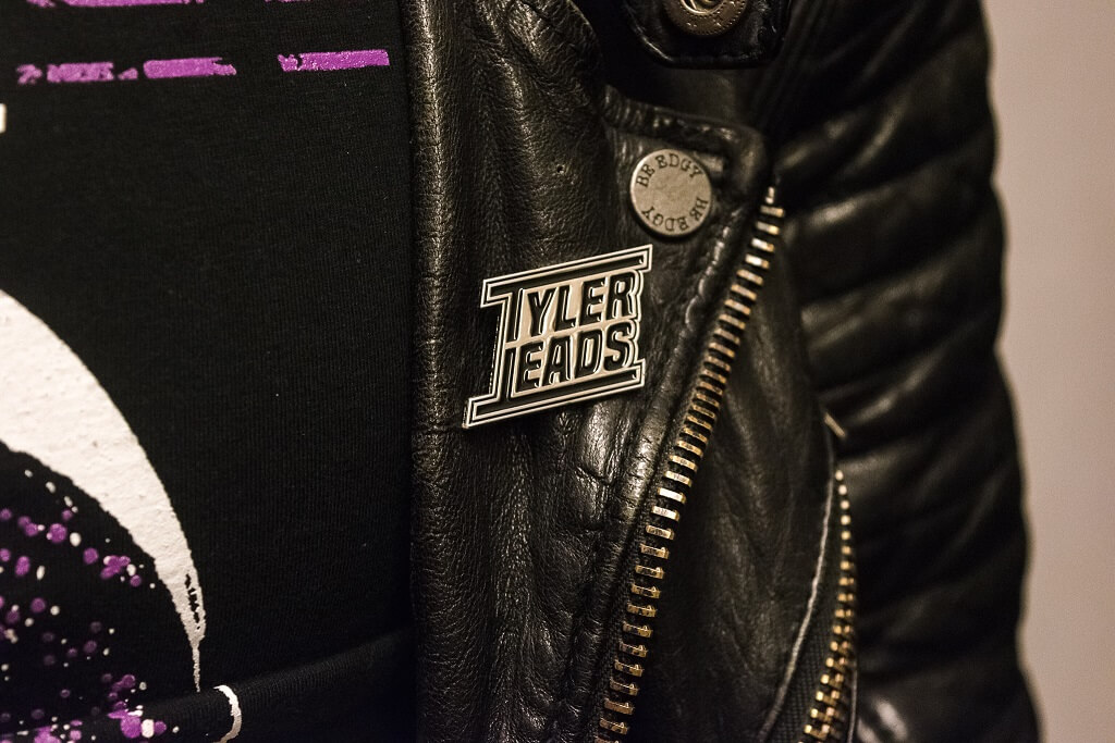 Tyler Leads - Metal Pin