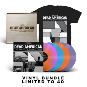 Dead American - The Shape of Punk is Dumb lp (Pre Order)