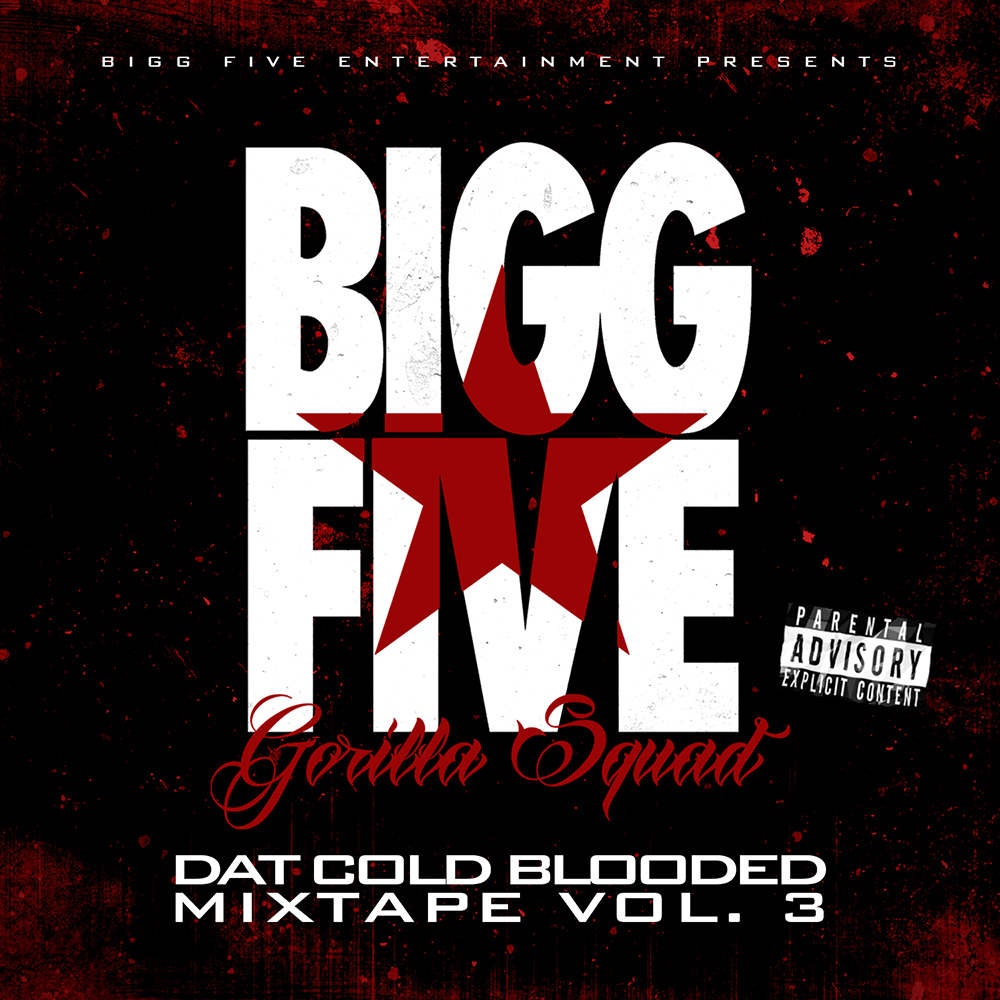 Bigg Five - Dat Cold Blooded Mixtape Vol. 3