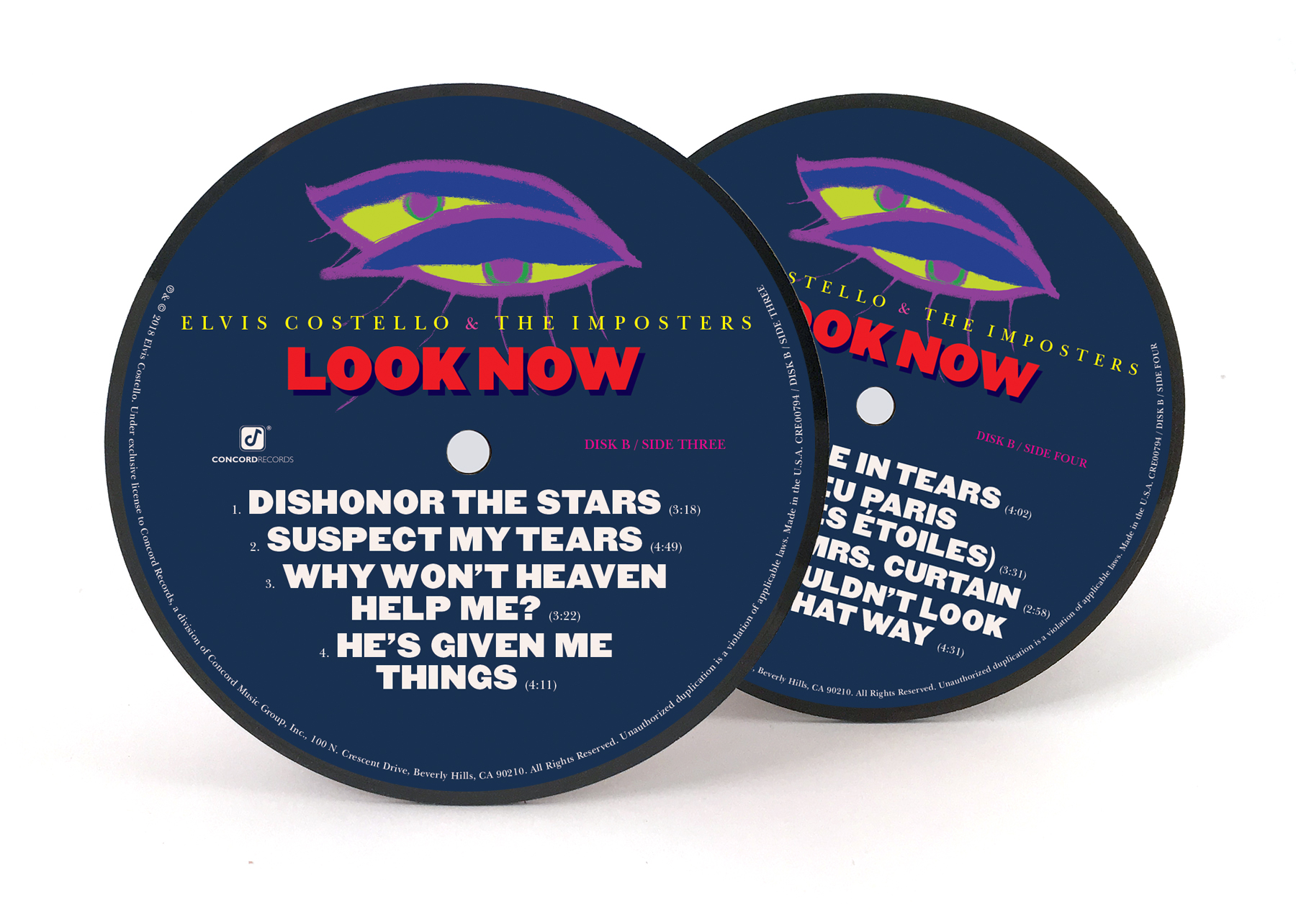 "Look Now Deluxe 7"" Box Set Edition (ten 7"" vinyl) + Look Now Vinyl Coaster Set + Adapter - Limited to 1000 Units"