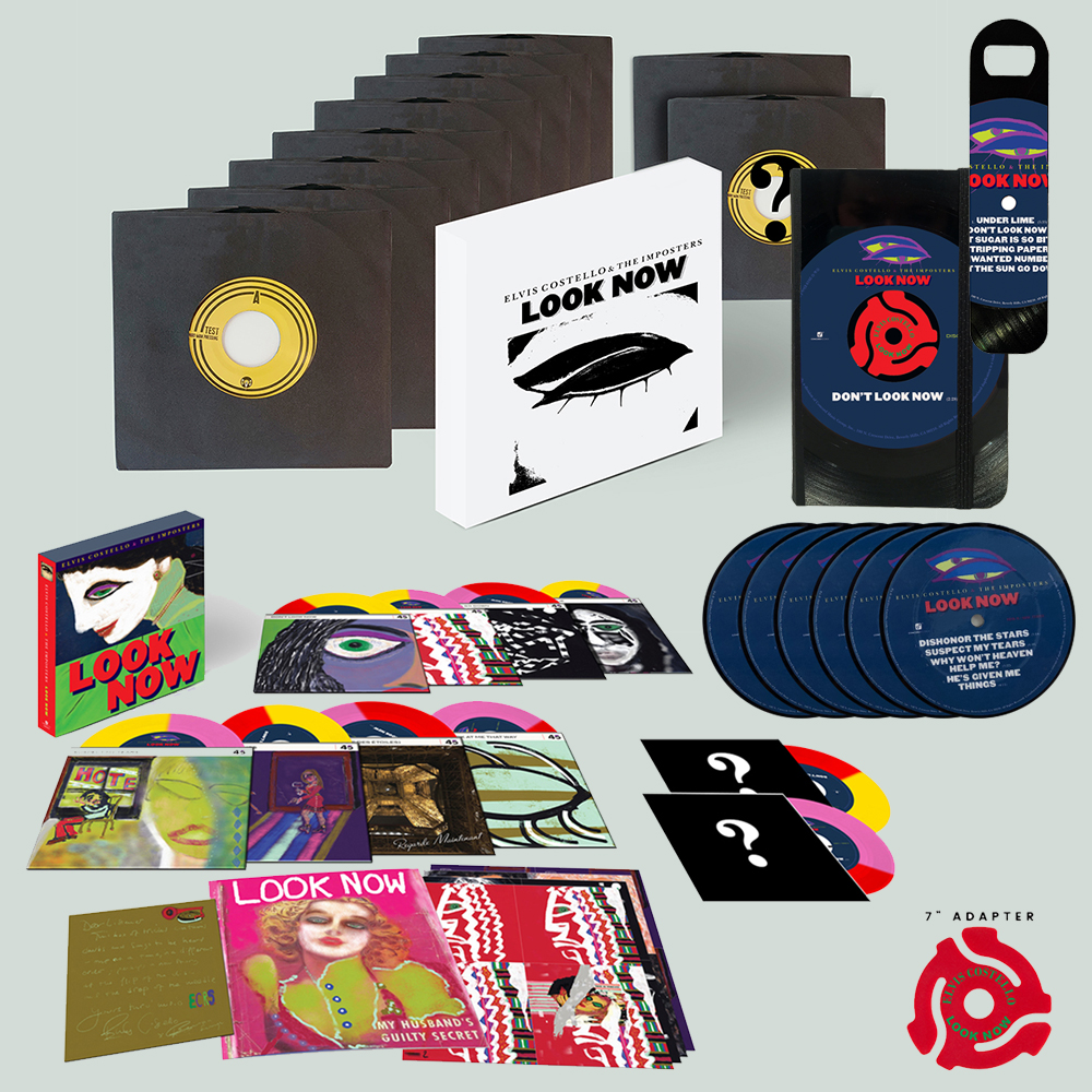 "Signed, Numbered + Stamped Test Pressing Box Set + Pocket Journal with  7"" Adapter + Bottle Opener + Coasters + Final 7"" Box set (Ten 7"" Vinyl) (edition of 50)"