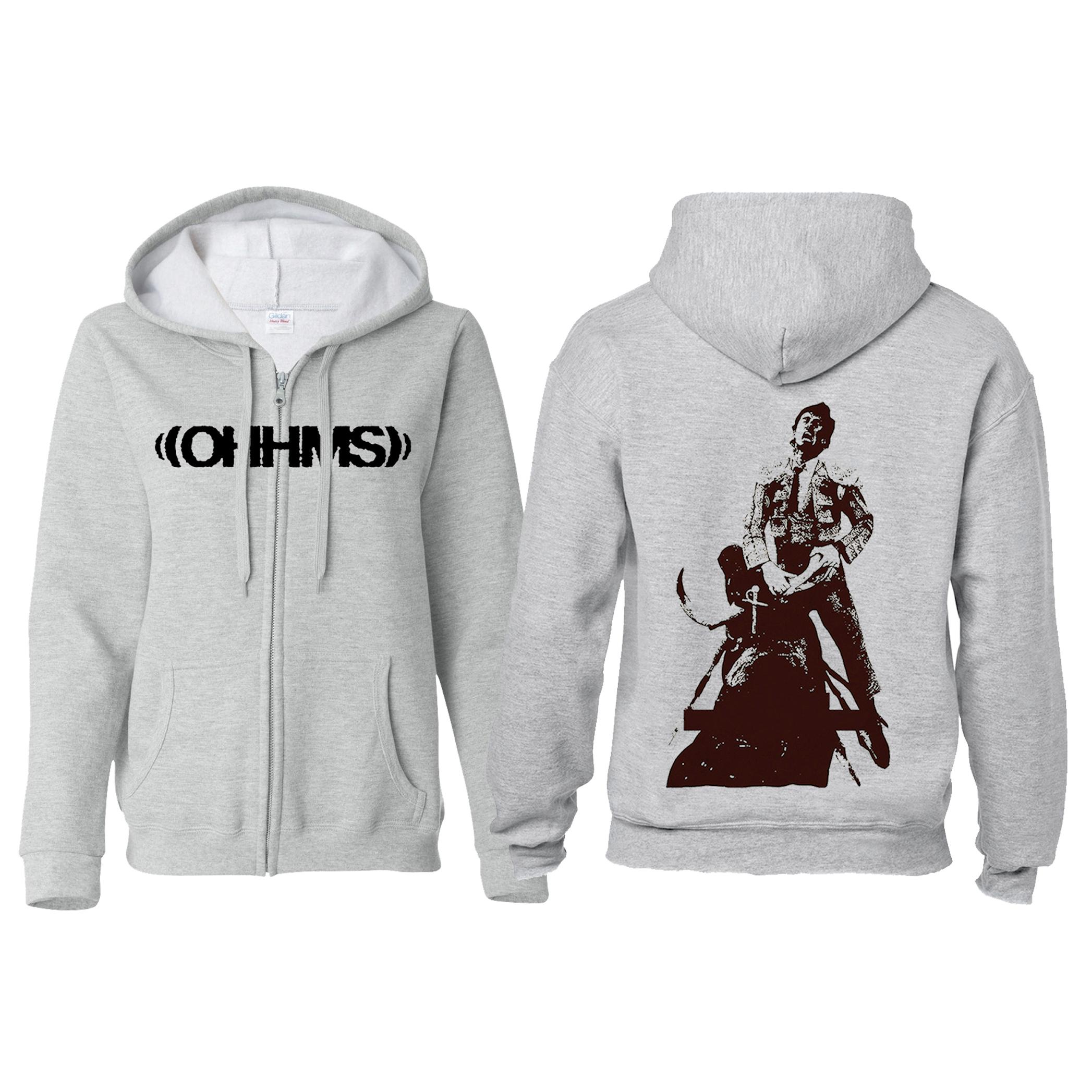 OHHMS - Exist Matador zip-up hoodie - Holy Roar Records Ltd