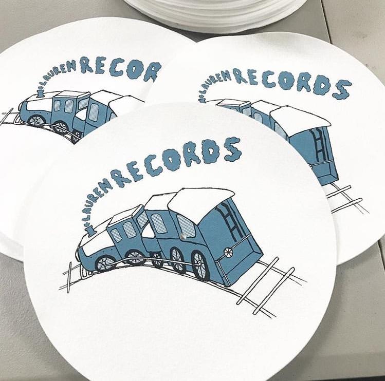 Lauren Records - Train Slipmat