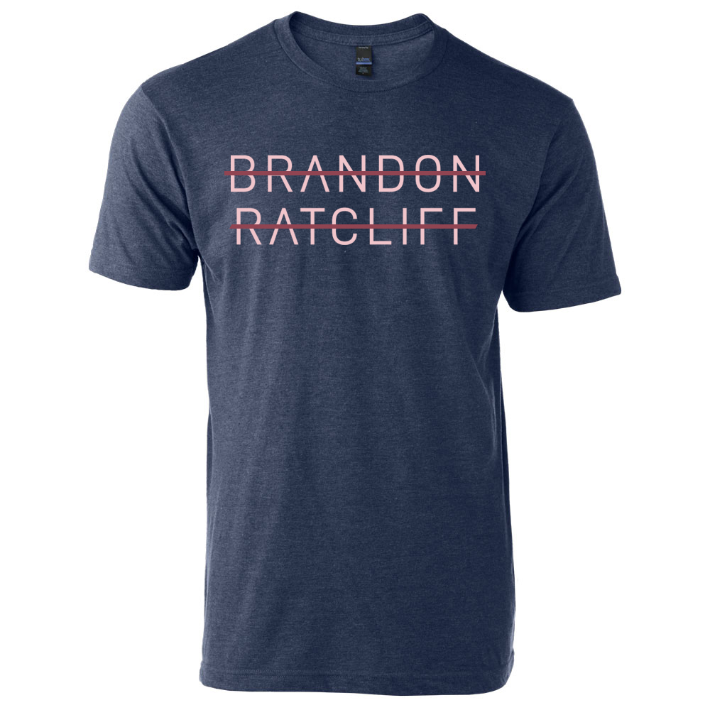 Brandon Ratcliff Tee - Denim Blue