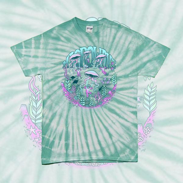 Jellyfish Tie Dye T Shirt