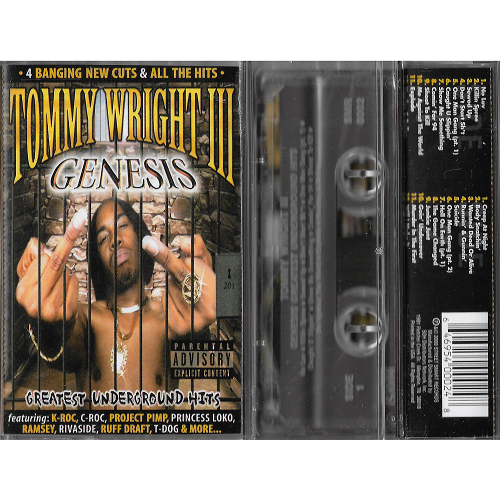 Tommy Wright III - Genesis: Greatest Underground Hits (Cassette)
