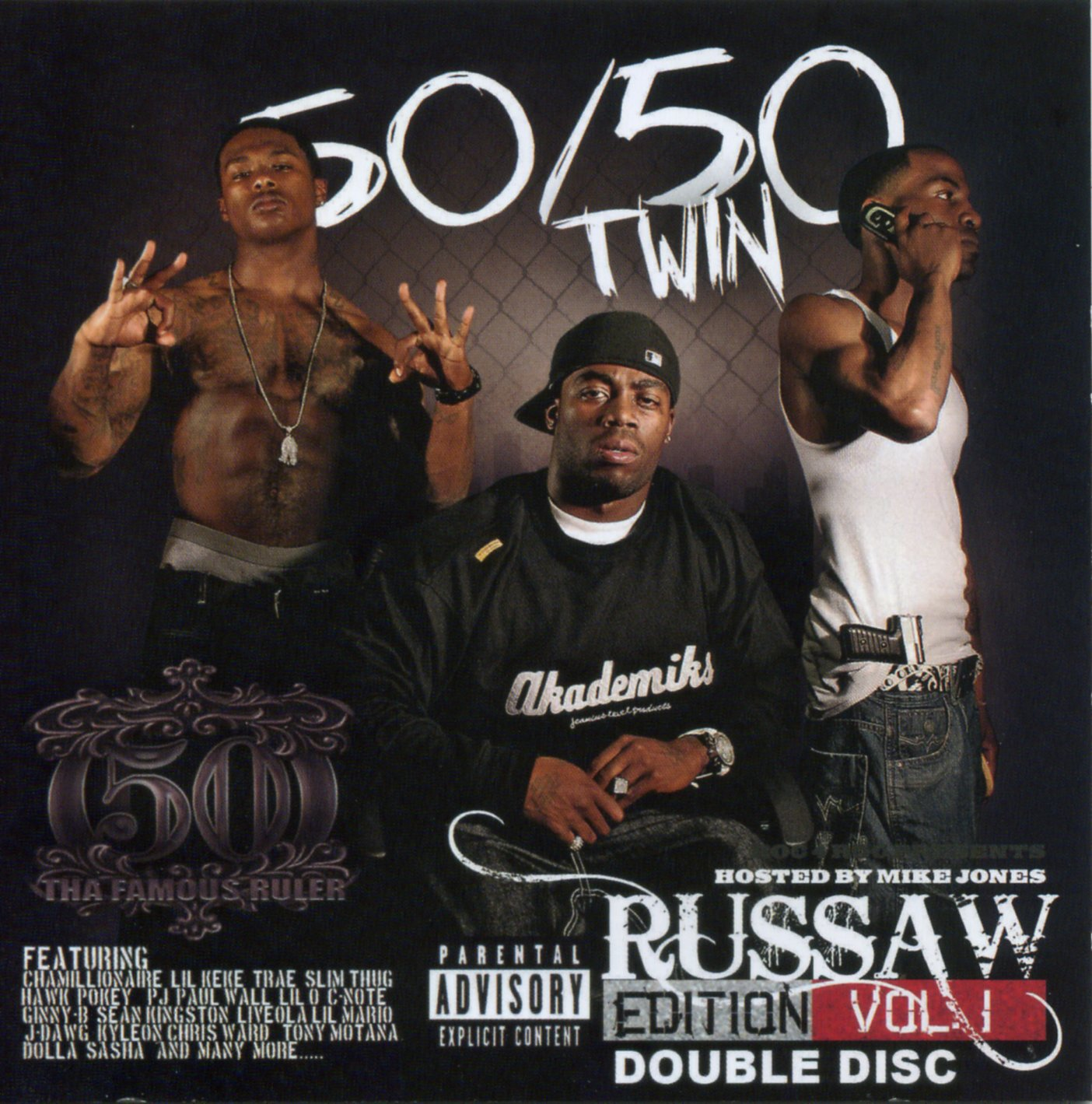 50/50 Twin - Russaw Edition Vol. 1 (Hosted by Mike Jones)