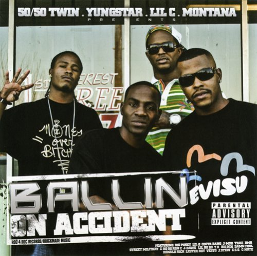 50/50 Twin, Yungstar, Lil C, Montana - Ballin On Accident