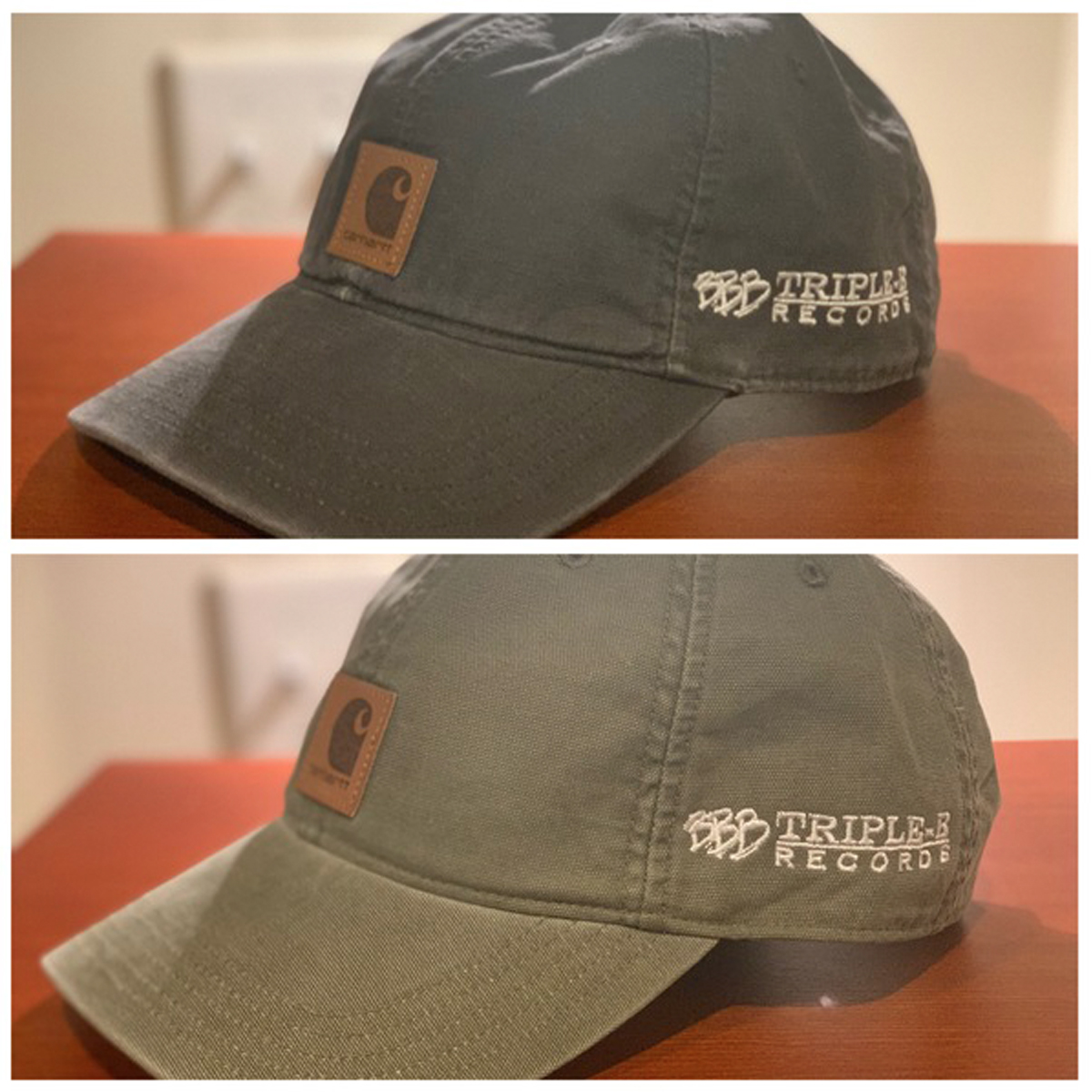 Triple B Records - BBB x Carhartt Dad Hat LTD to 50 e90316abb6d