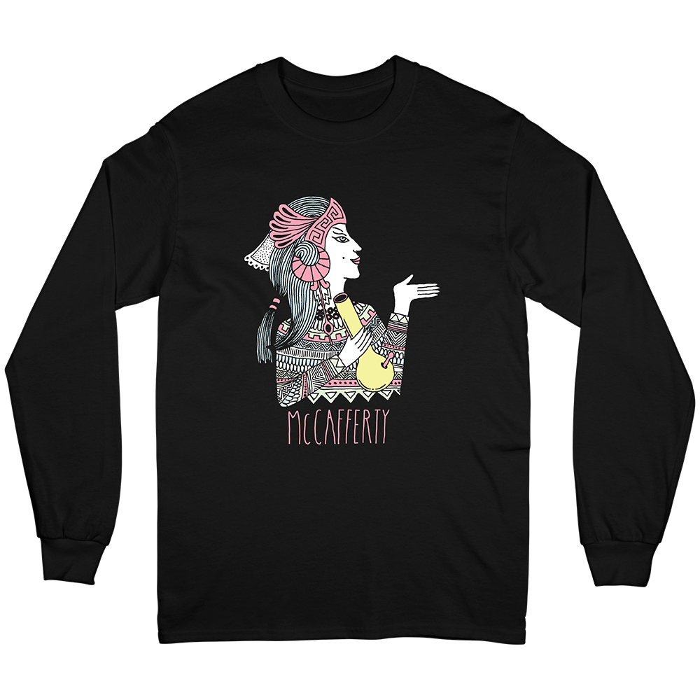 Bong Girl Long Sleeve Tee