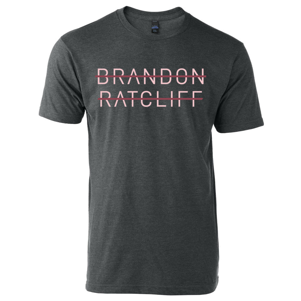 Brandon Ratcliff Tee - Graphite