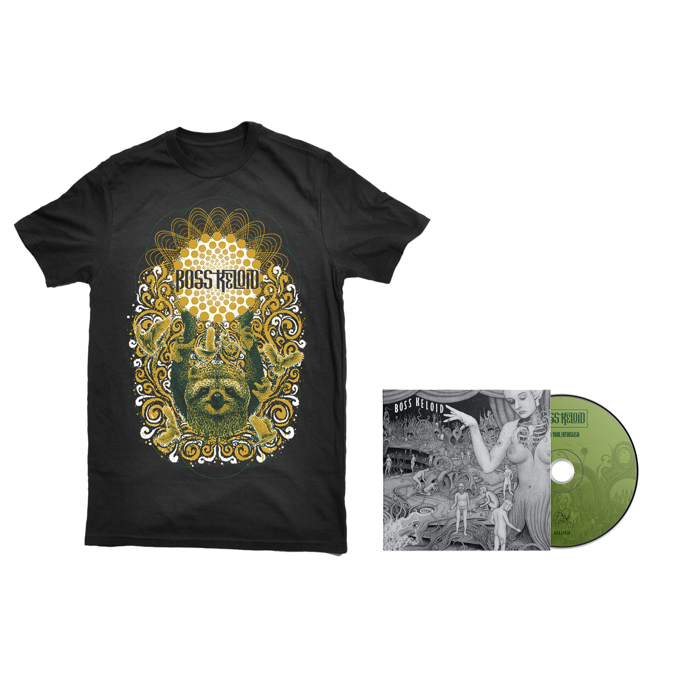 Boss Keloid - Herb Your Enthusiasm shirt + CD