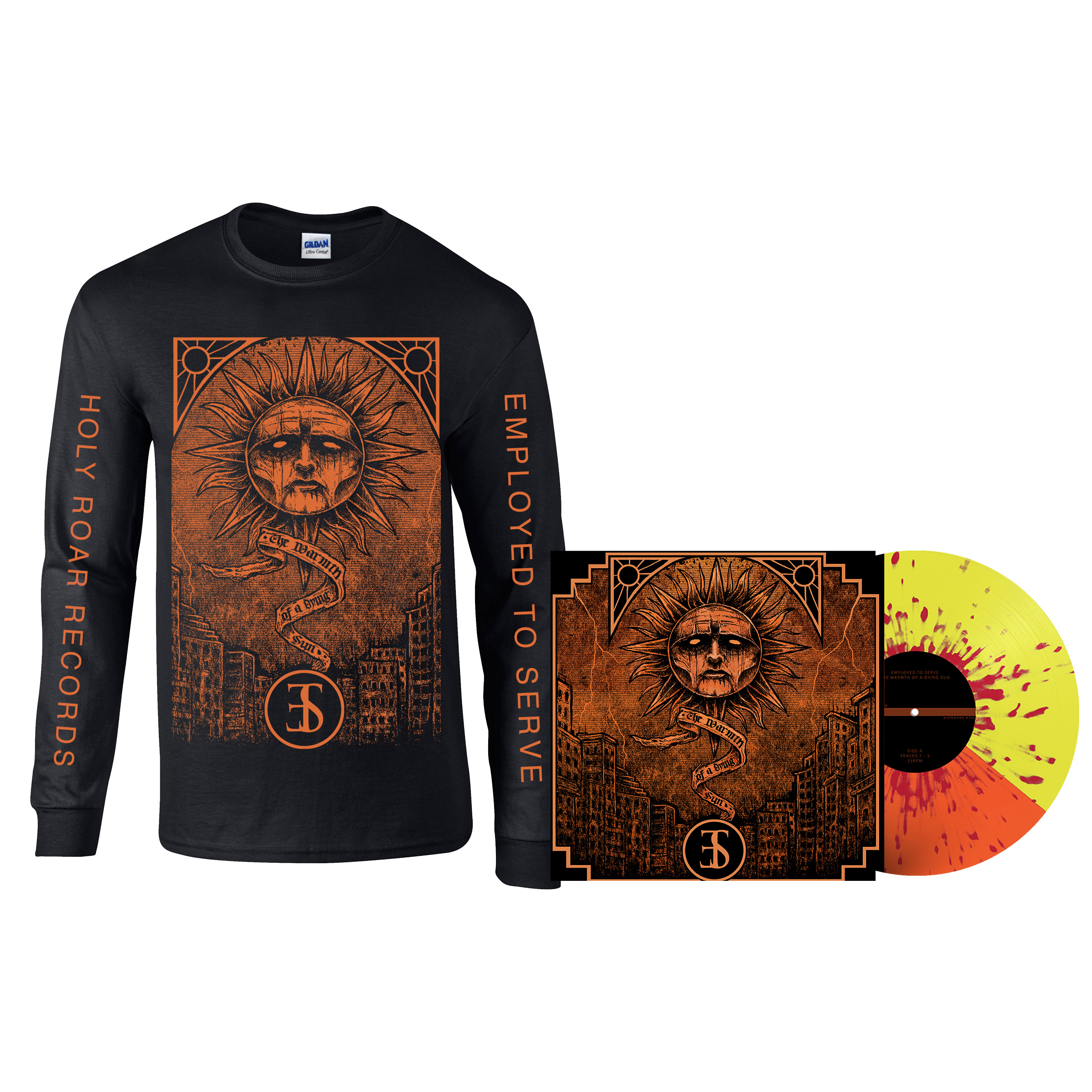 Employed To Serve - The Warmth Of A Dying Sun long sleeve + LP