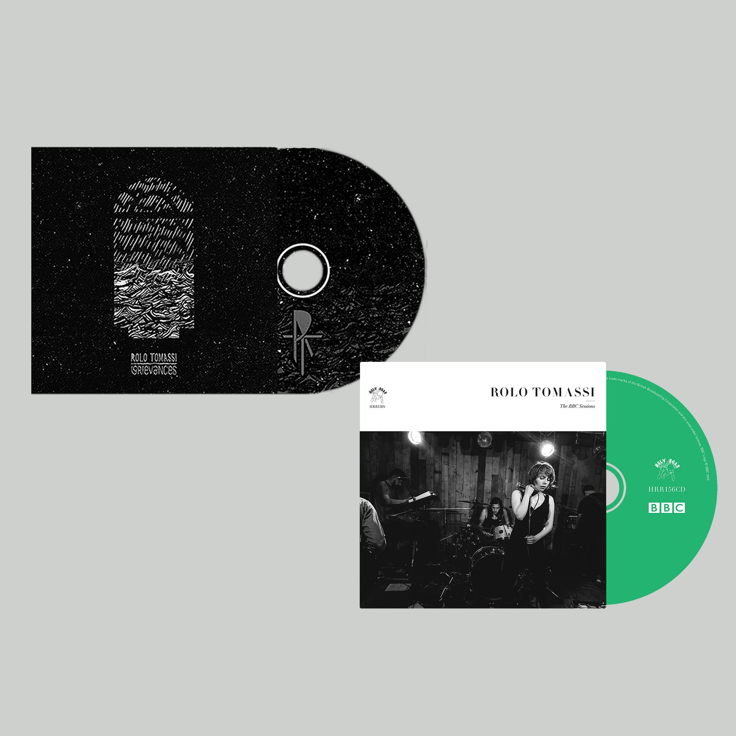 Rolo Tomassi - BBC Sessions + Grievances CD bundle