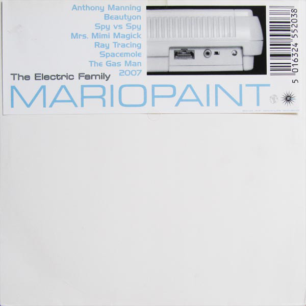 Various ‎Artists – The Electric Family - Mariopaint LP (Irdial Discs)