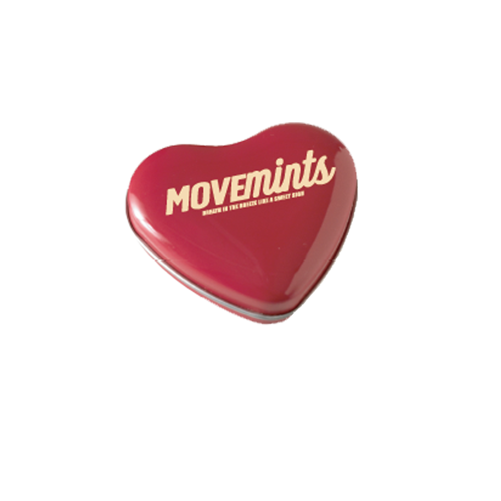 Peppermint Movemints Exclusive Candy Tin