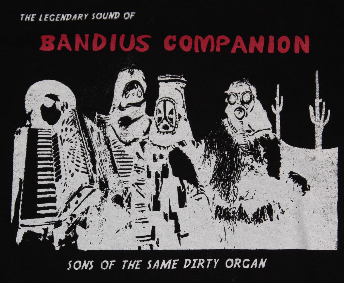 (SOLD OUT) Bandius Companion Sons Of The Same Dirty Organ SHIRT + ALBUM DOWNLOAD