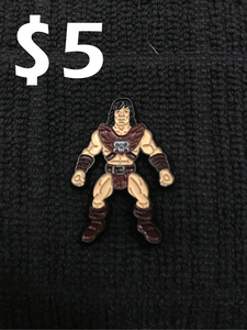 Battle Tribes Adventurer Pin - Savage